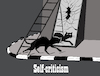 Cartoon: Self-criticism... (small) by berk-olgun tagged self,criticism