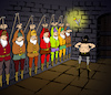 Cartoon: Seven Dwarfs... (small) by berk-olgun tagged seven,dwarfs