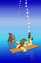 Cartoon: Signal Flare... (small) by berk-olgun tagged signal,flare