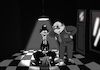 Cartoon: Silent Movie... (small) by berk-olgun tagged silent,movie