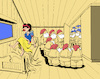 Cartoon: Snow White and 14 Dwarfs... (small) by berk-olgun tagged snow white and 14 dwarfs