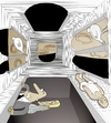 Cartoon: Special thanks to Escher.. (small) by berk-olgun tagged escher