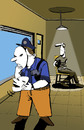 Cartoon: Split Personality... (small) by berk-olgun tagged split,personality