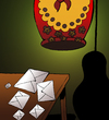 Cartoon: Suicide Letters... (small) by berk-olgun tagged suicide,letters