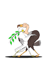 Cartoon: Tango... (small) by berk-olgun tagged tango
