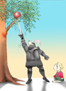 Cartoon: The Knight... (small) by berk-olgun tagged the,knight