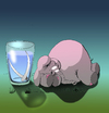 Cartoon: The Old Elephant... (small) by berk-olgun tagged the,old,elephant
