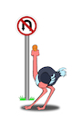 Cartoon: Traffic Sign... (small) by berk-olgun tagged traffic,sign