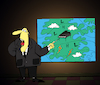 Cartoon: Weather Forecast... (small) by berk-olgun tagged piano
