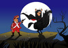 Cartoon: Zorro... (small) by berk-olgun tagged zorro