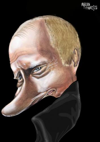 Cartoon: PUTIN (medium) by Marian Avramescu tagged putin