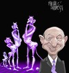 Cartoon: Purple guards (small) by Marian Avramescu tagged mav