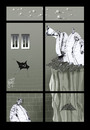 Cartoon: windows (small) by Marian Avramescu tagged mmmmmmmmmmmm
