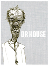 Cartoon: dr house (small) by jenapaul tagged docotr,house,tv,portrait,karikatur,serial