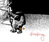 Cartoon: Armstrong (small) by Wiejacki tagged moon,astronauts,kosmos,cosmic,astronaut,science,technology,universe