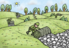 Cartoon: Days after war (small) by svitalsky tagged war,genocide,skull,soldier,death,cartoon,svitalsky,svitalskybros