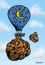 Cartoon: Euro and the debt (small) by svitalsky tagged euro,europa,reduce,debt,illustration,cartoon,color,svitalsky,svitalskybros,dept,schuld,eurozone,eurozona,finance,financial,money,finanz,finanzen,geld