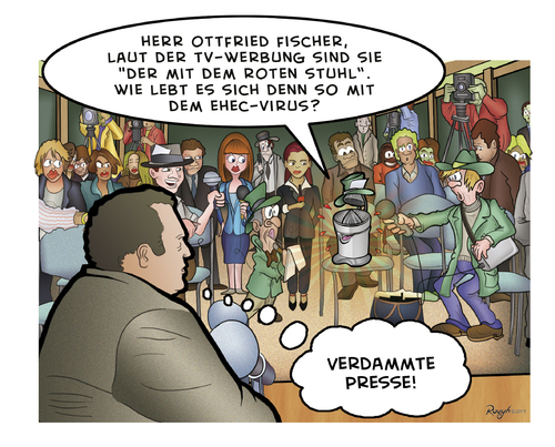 Cartoon: Die Presse 18 (medium) by Die Presse tagged pressekonferenz