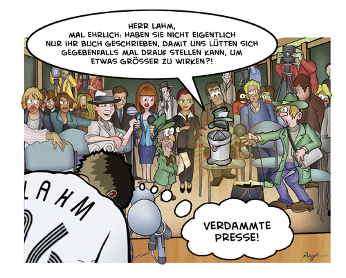 Cartoon: Die Presse 28 (medium) by Die Presse tagged pressekonferenz