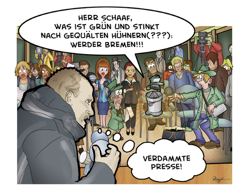 Cartoon: Die Presse 74 (medium) by Die Presse tagged pressekonferenz