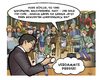 Cartoon: Die Presse 07 (small) by Die Presse tagged pressekonferenz