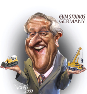 Cartoon: Rainer Brüderle (medium) by Tonio tagged german,politician,fdp,federal,minister,for,economics,and,technology,in,the,cabinet,merkel,ii,bundestag