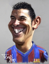 Cartoon: Pedro Ledesma FC Barcelona (small) by Tonio tagged football
