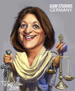Cartoon: Leutheusser-Schnarrenberger (small) by Tonio tagged minister,of,justice,german,government