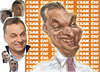 Cartoon: Viktor Orban (small) by zsoldos tagged portrait,hungary,politician
