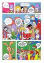 Cartoon: Tre Kroner Girls 20von20 (small) by Nk tagged skandinavien,scandinavia,oslo,action,hero,superheld,girl