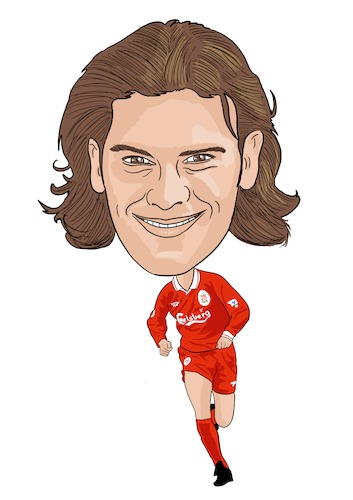 Cartoon: Berger Liverpool Legend (medium) by Vandersart tagged liverpool,cartoons,caricatures
