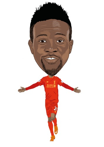Cartoon: Origi Liverpool (medium) by Vandersart tagged liverpool,cartoons,caricatures