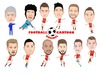 Cartoon: Arsenal Team (small) by Vandersart tagged arsenal,cartoons,caricatures
