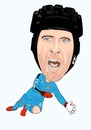 Cartoon: Cech Arsenal (small) by Vandersart tagged arsenal,cartoons,caricatures