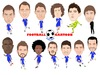 Cartoon: Chelsea Team (small) by Vandersart tagged chelsea,cartoons,caricatures