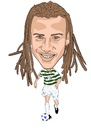 Cartoon: Larsson Celtic (small) by Vandersart tagged celtic,cartoons,caricatures