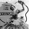 Cartoon: At pump (small) by zu tagged gas,pump,girl,ballerina