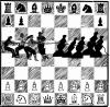 Cartoon: chess (small) by zu tagged chess