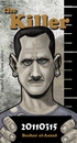 Cartoon: Bashar al Assad (small) by islamashour tagged bashar,alassad,syria,lebanon,damascus,daraa,golan,leader,of,the,arabs