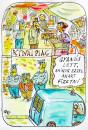 Cartoon: euro-asio (small) by rakbela tagged rb,asio,euro,market,chinese,money