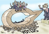 Cartoon: Leaders decisions (small) by Popa tagged ld01