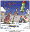 Cartoon: stimmung (small) by pentrick tagged silvester,party,stimmung,silvesterfeuerwerk,new,years,eve,fireworks,cartoon,feuerwerk,rakete,schnee,snow,nachbar,gartenzwerg,tank,comics,tankcomics,gerd,bökesch