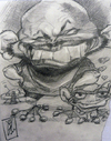 Cartoon: TURCIOS (small) by GOYET tagged turcios,caricatures,cartoons,celebreties
