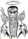 Cartoon: FALLEN ANGEL (small) by Jorge Fornes tagged ilustration