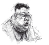 Cartoon: Kim Jong-un (small) by yllifinearts tagged kim,jong,un,korea,north,dictator,komunist,terrorist