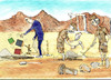 Cartoon: EXCAVATION (small) by hakanipek tagged date,today,archeology,printing,historical