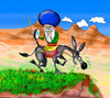 Cartoon: Nasreddin Hodja (small) by hakanipek tagged turkish turkey comedian funny man famous joke