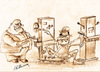 Cartoon: performance award (small) by hakanipek tagged work,exploitation,of,the,laborer,oppressed