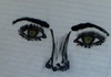 Cartoon: MAKEUP (small) by nayar tagged makeup,scribble,nayar
