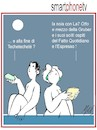 Cartoon: smartphonetv (small) by Enzo Maneglia Man tagged vignetta,umorismo,spilli,maneglia,man,fighillearte